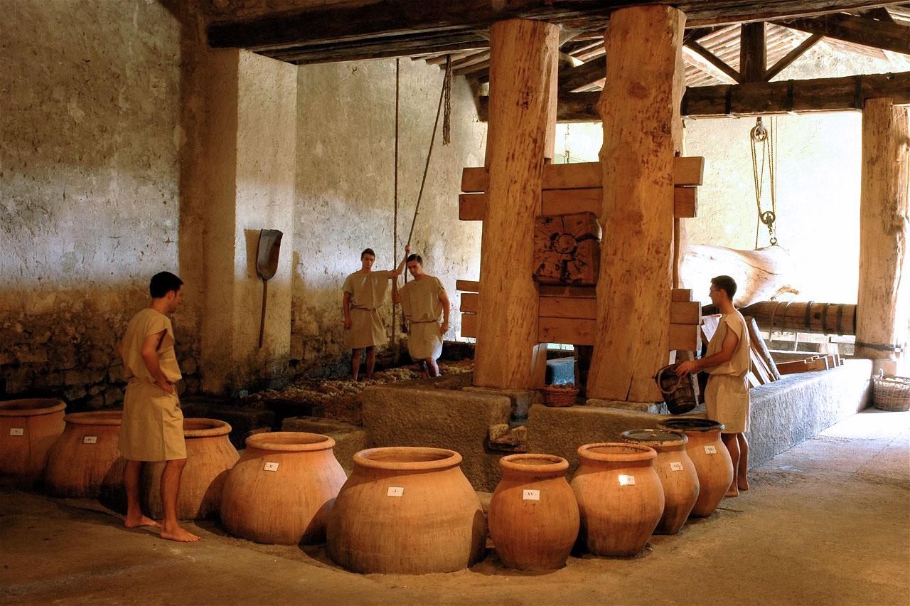 Antiquit techniques et production frise chronologique for Cibi romani