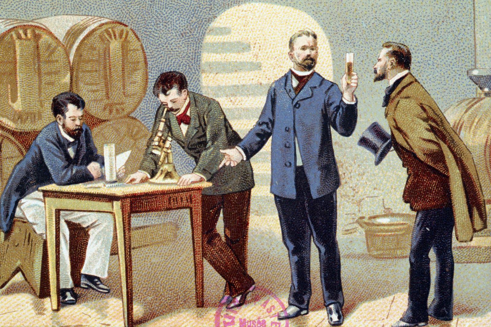Connaissance du vin - Frise chronologique histoire du vin - Inrap