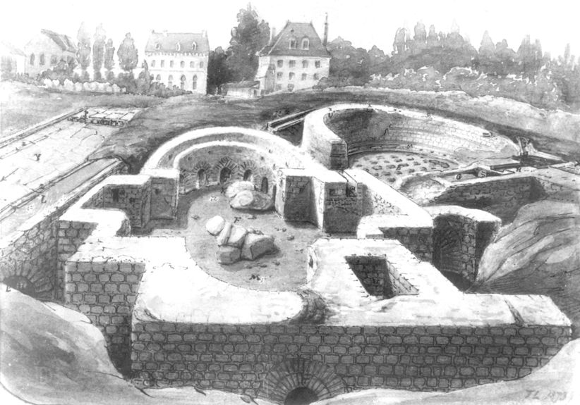 La ville antique quand poitiers s 39 appelait limonum les for Le jardin d alphonse