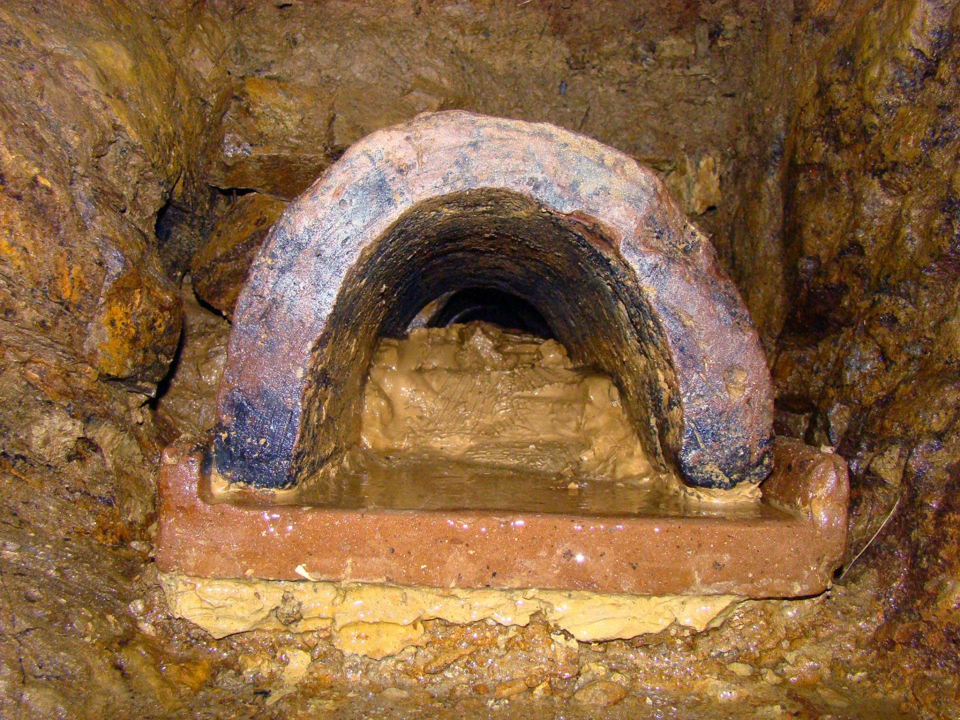 Actualit les ar nes de tintignac fouille 2009 inrap for Prise de terre fond de fouille