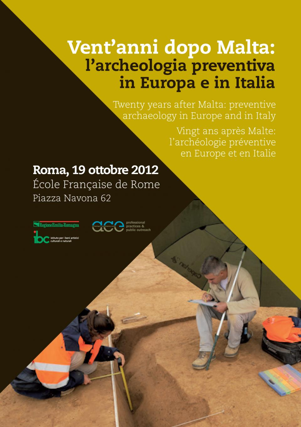 rencontre internationale à l'École française de Rome
