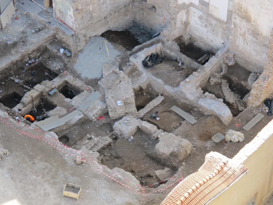 Durant l'Antiquité, l'évolution d'un quartier d'habitation