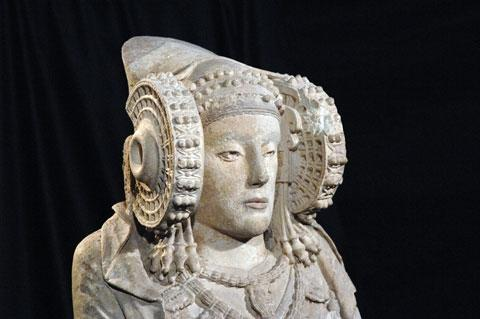 Les origines de la dame d'Elche, chef d'oeuvre de l'Art ibérique (Elche, Alicante)