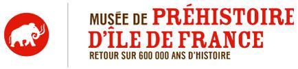 Logo muse de Préhistoire d'ïle-de-France, nemours