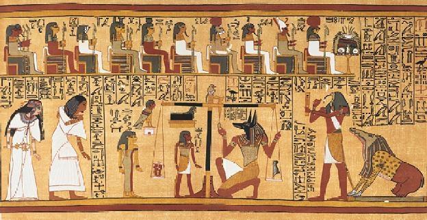 Ce que lisaient les égyptiens anciens, ce que nous lisons sur eux