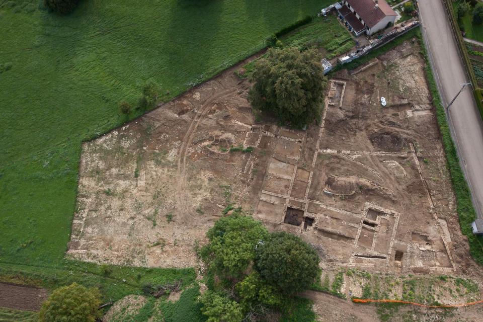 Un domaine gallo-romain complet