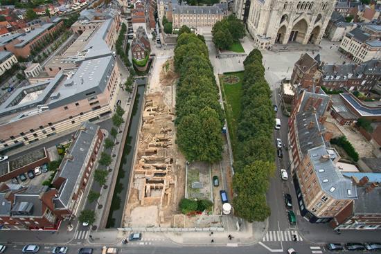 L'évolution d'un quartier d'Amiens depuis l'Antiquité