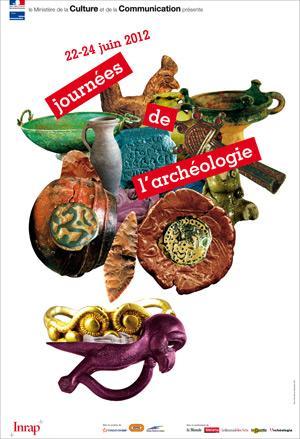 3e édition des Journées nationales de l'Archéologie les 22, 23 et 24 juin 2012