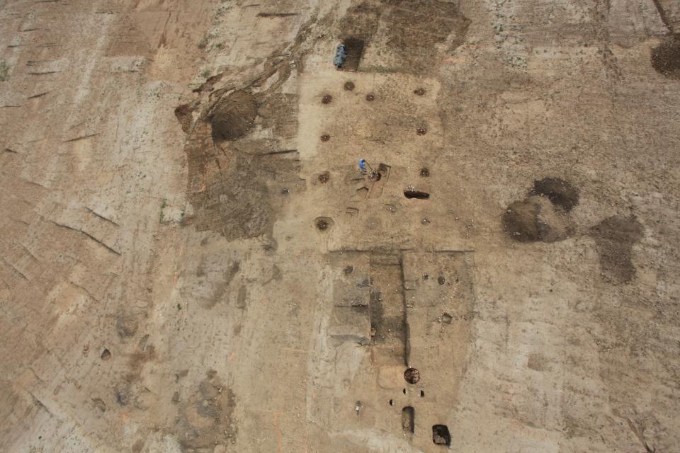 Une occupation continue du Néolithique à l'âge du Bronze