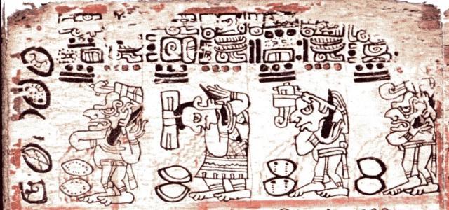 Les Mayas et le sacrifice de soi