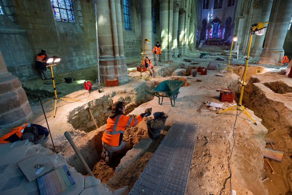 Reprise des fouilles archéologiques à Gonesse (Val-d'Oise)