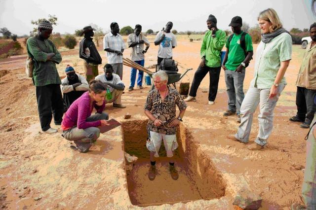 Archéologie en Pays Dogon, peuplement humain, présent et passé, en Afrique occidentale