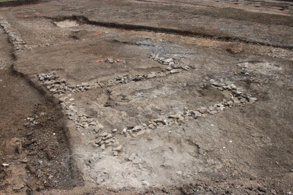 Des maçonneries antiques mises au jour
