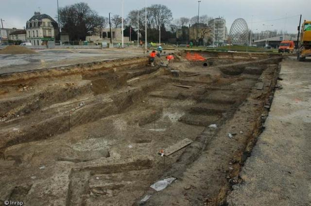 Archéologie du territoire de la France