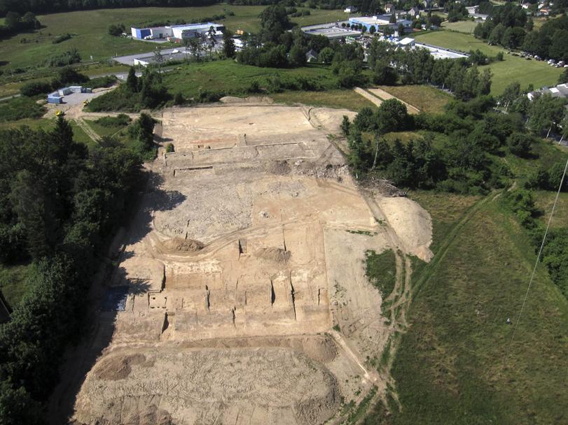 Des bâtiments antiques sur le site du Theil à Ussel (Corrèze)