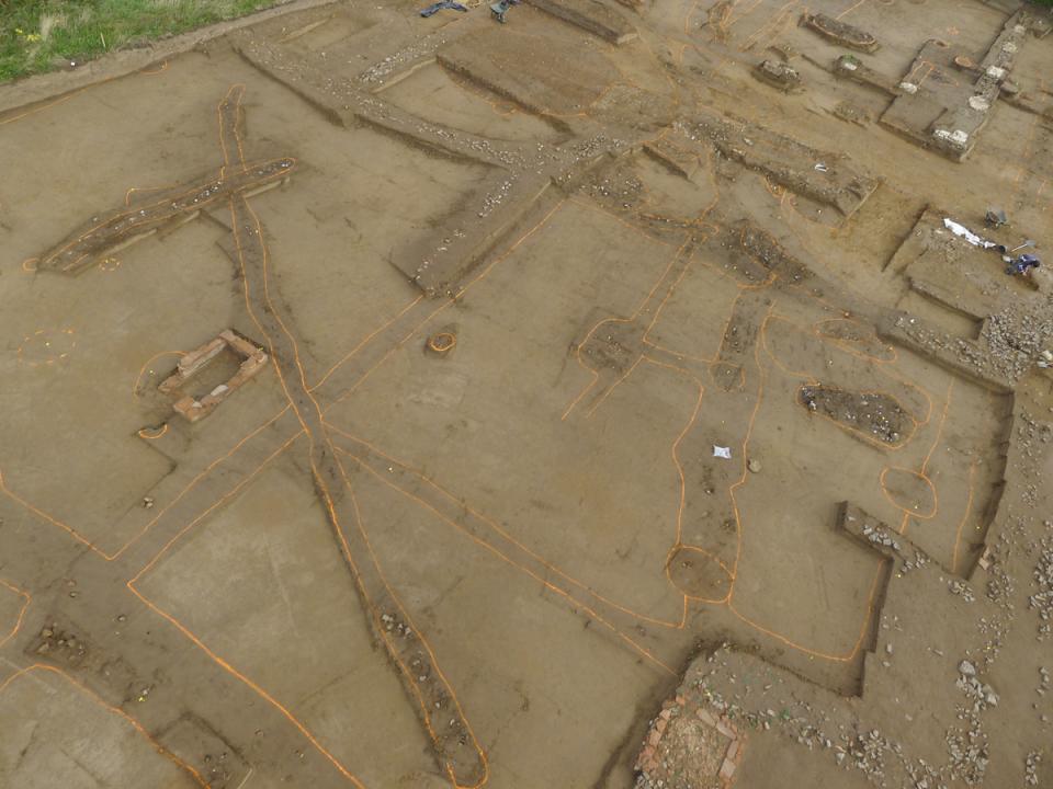 Des connaissances plus approfondies sur le quartier de la ville gallo-romaine mis au jour à Portbail (Manche)