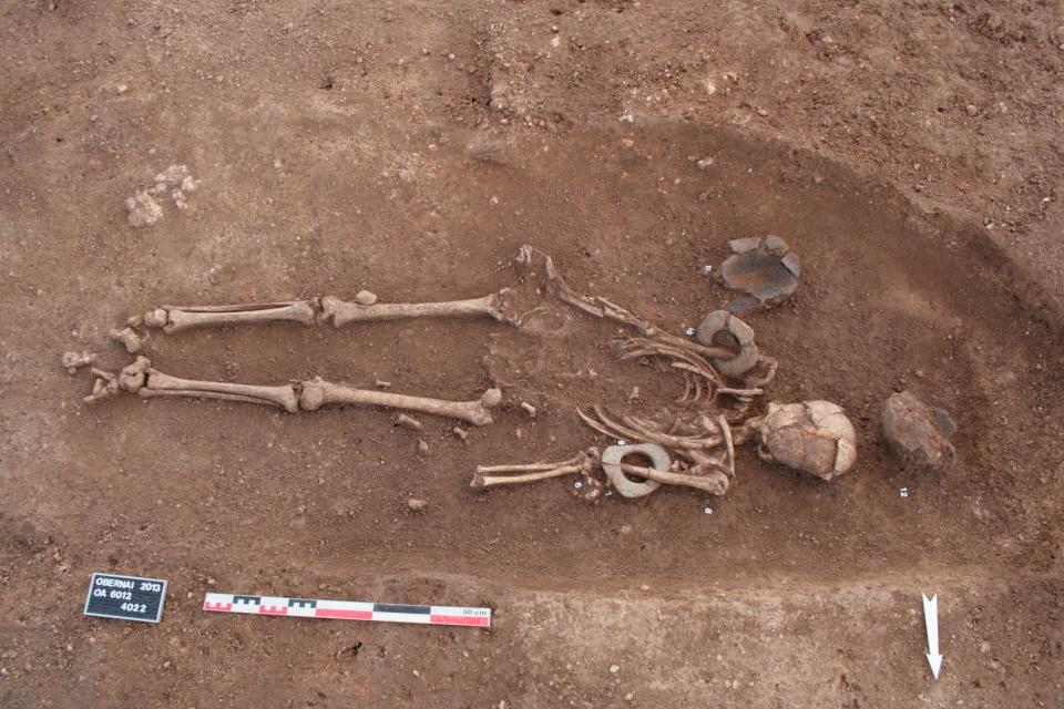 Une nécropole du Néolithique moyen (5000-4600 avant notre ère)