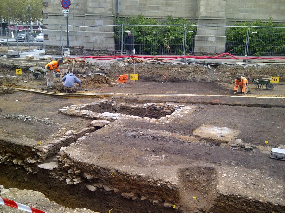 les enjeux d'une nouvelle opération de fouilles préventives au coeur de la ville