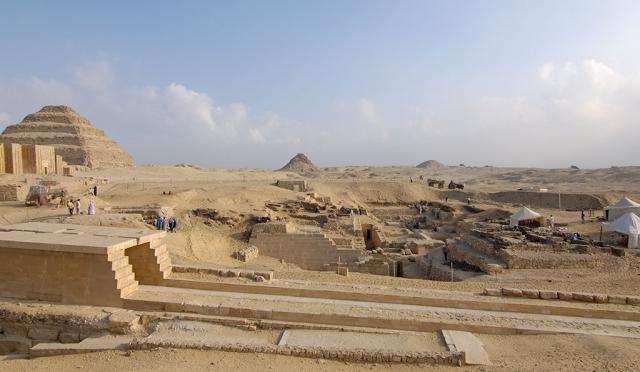 Au coeur des tombes de l'Egypte ancienne