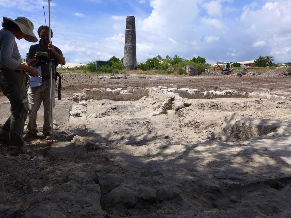 Une première archéologique à La Réunion