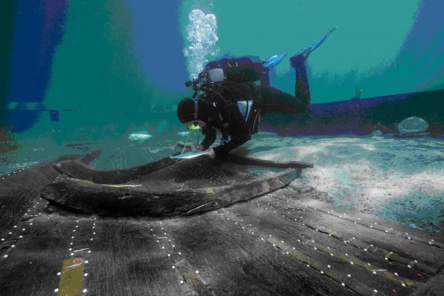 Découverte d'un des plus anciens navires de Méditerranée