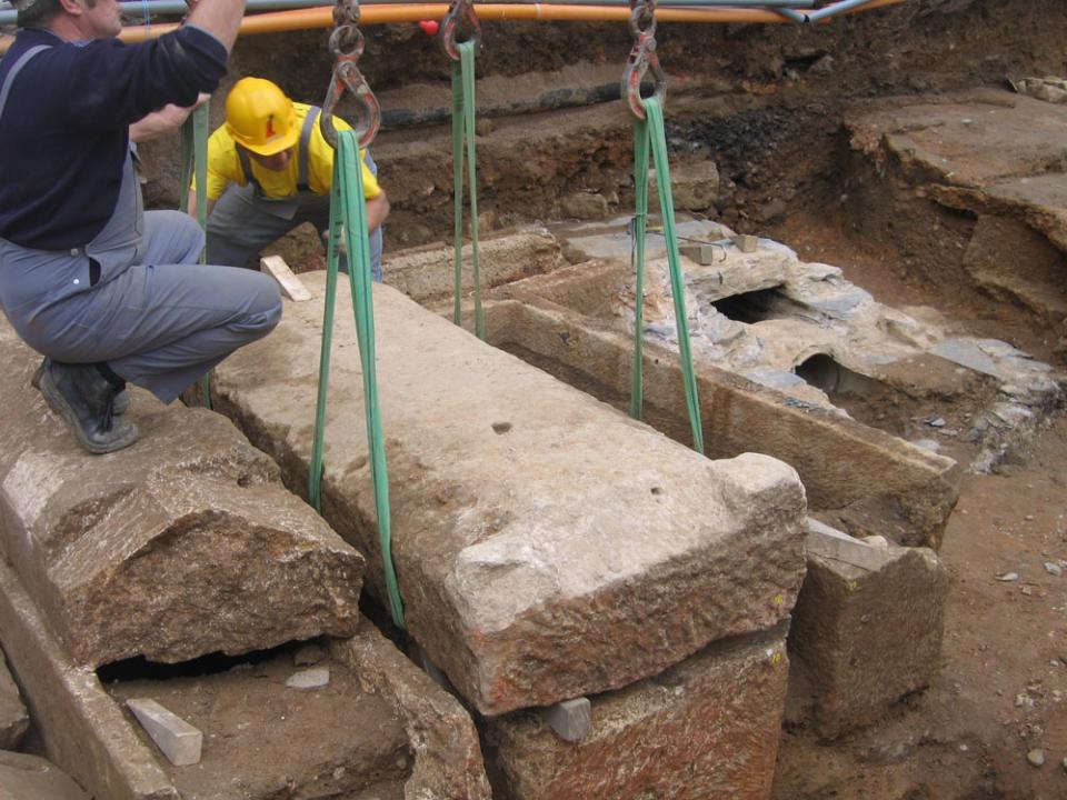 Une zone sépulcrale connue des archéologues