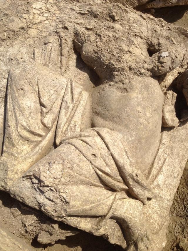 découverte d'un exceptionnel sanctuaire antique en Gaule romaine