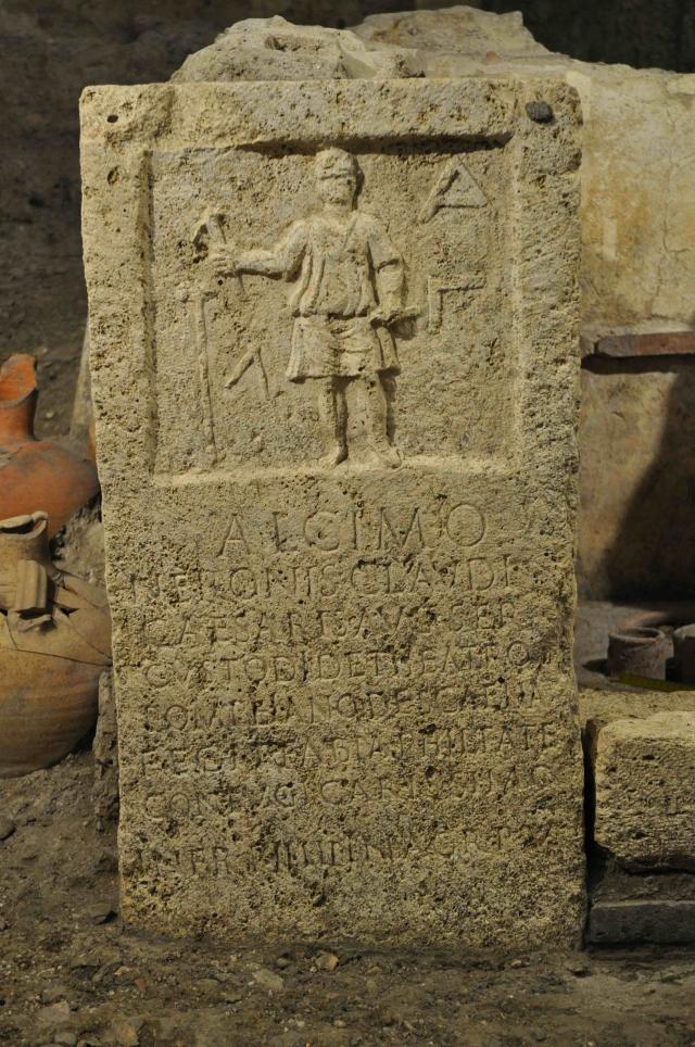 Une nécropole romaine au Vatican