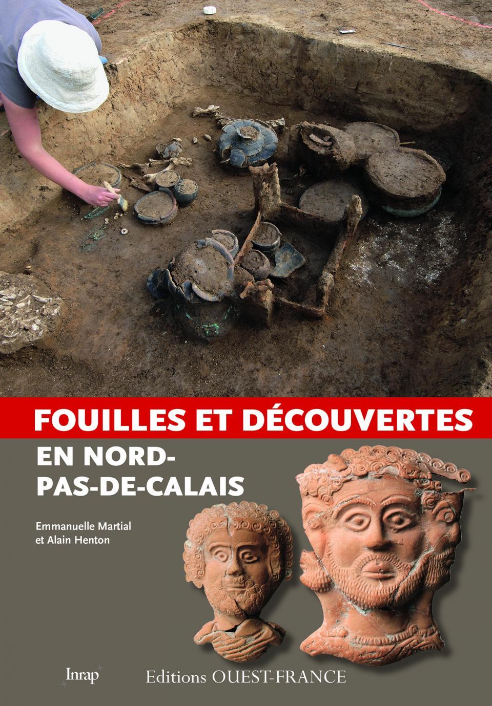 """Parution de """"Fouilles et découvertes en Nord-Pas-de-Calais"""""""