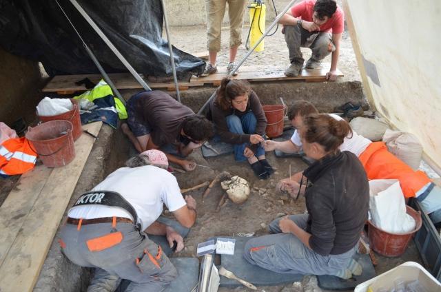 Il y a 8700 ans dans le 9-3, découverte d'une exceptionnelle nécropole préhistorique