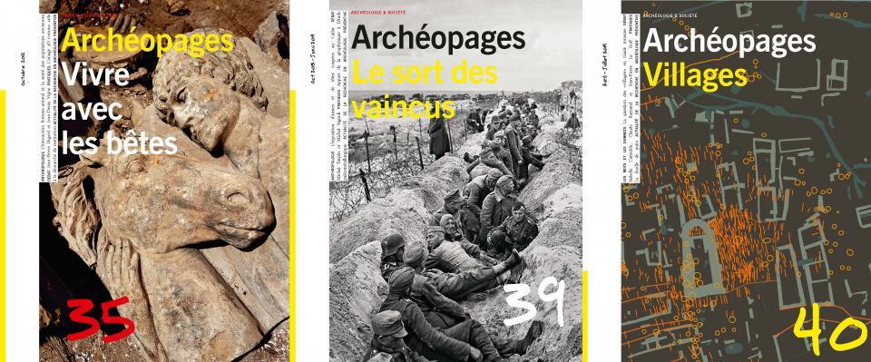 Couvertures Archéopages