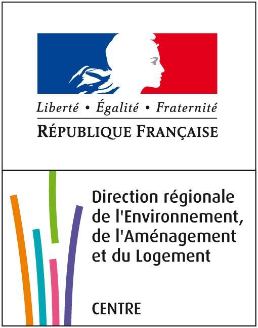 Logo Direction régionale de l'Environnement, de l'Aménagement et du Logement