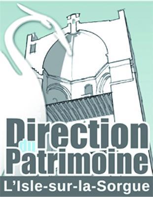 Direction du Patrimoine de L'Isle-sur-la-Sorgue