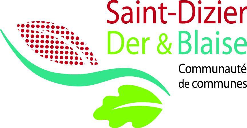 Logo Saint-Dizier, Der & Blaise, communauté de communes