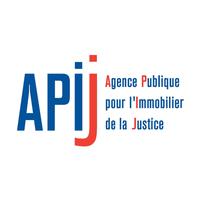 Logo APIJ Agence publique pour l'immobilier de la justice