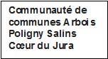 logo Communauté de communes Arbois Poligny Salins Cœur du Jura