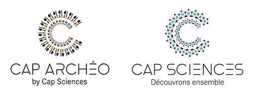 Logo Cap archéo - Cap sciences