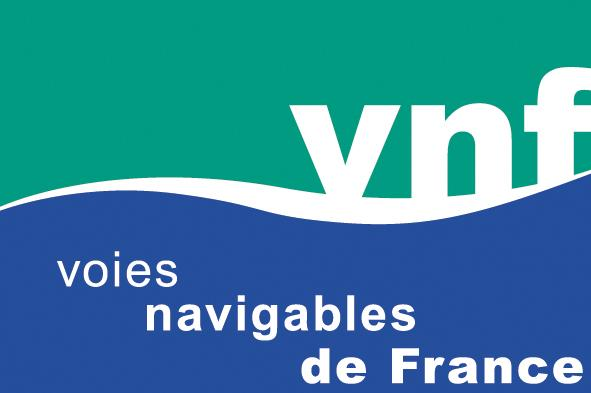 Logo VNF - Voies navigables de France