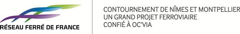 Logo RFF contournement Nîmes-Montpellier