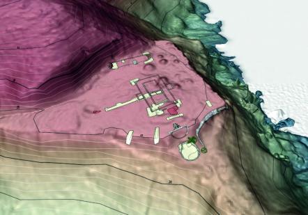 DAP 9 | Emplacement du site sur la colline de Montravel (Rémire-Montjoly)