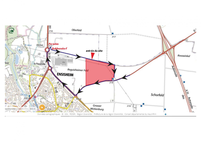 Plan Ensisheim