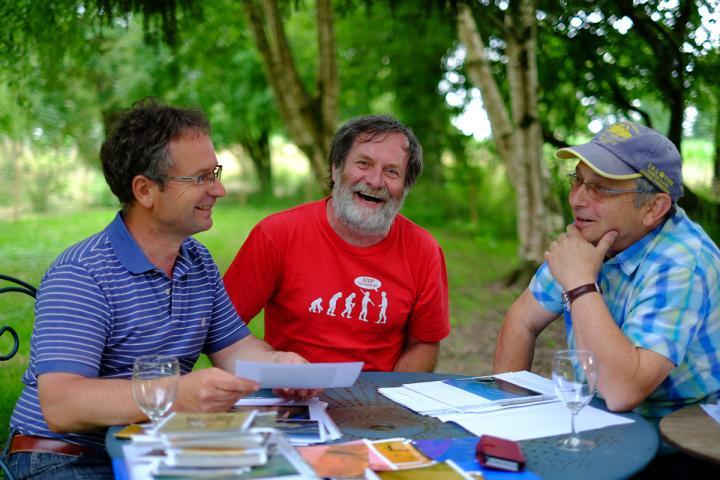 Gilles Leroux, Philippe Guigon, Maurice Gautier.