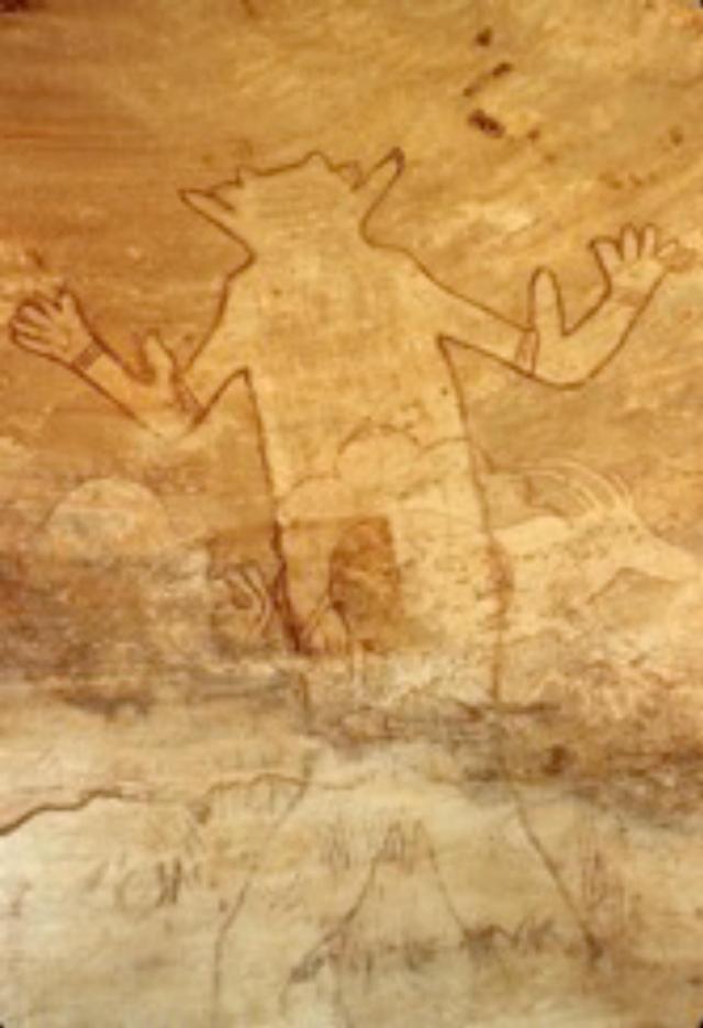 Les plus anciennes peintures du Tassili-n-Ajjer (Sahara central)