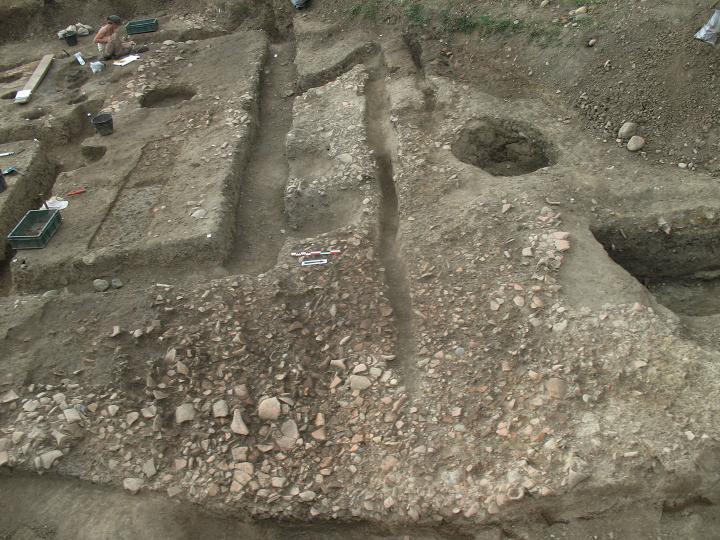 Deuxième phase d'occupation du site, à partir des années 100 avant notre ère.