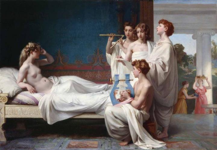 Le réveil de Psyché par Nicolas-Adolphe Weber 1867