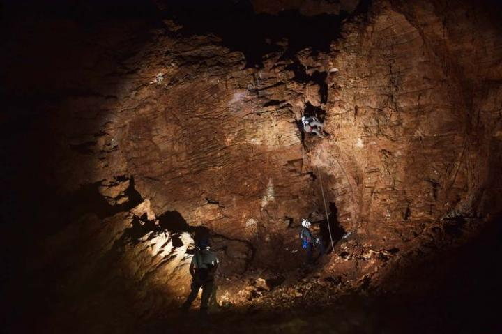 Grotte de Waxhu south (Namibie)