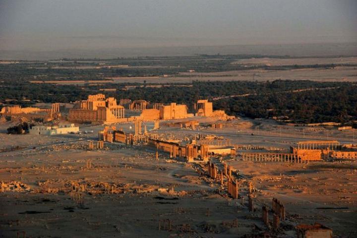 La cité antique de Palmyre, en Syrie
