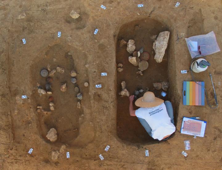 Nouvelles découvertes sur la nécropole gauloise et gallo-romaine d'Esvres-sur-Indre (Indre-et-Loire)
