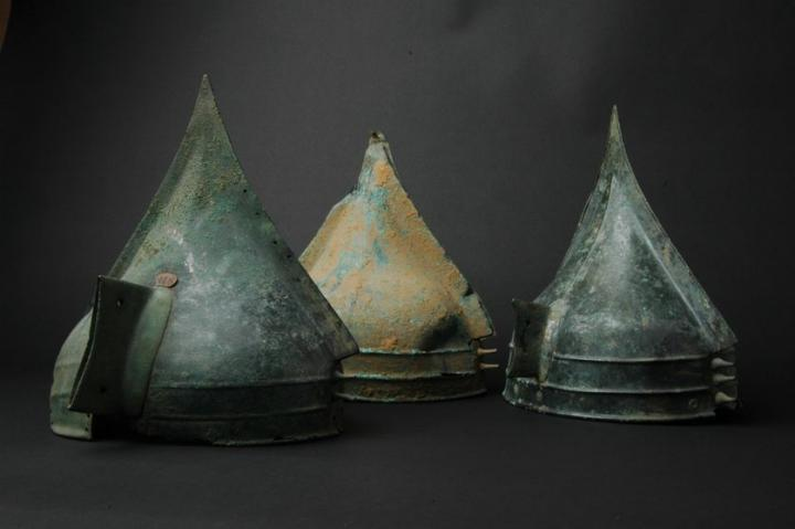 Les casques de Bernières d'Ailly (Calvados), Bronze final