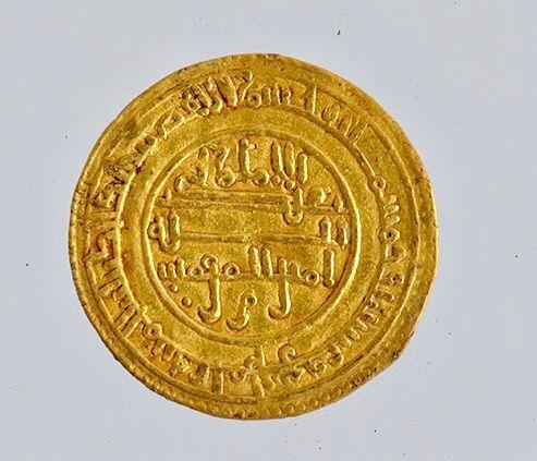 Trésor, monnaie en or de l'atelier d'Almeria en Espagne
